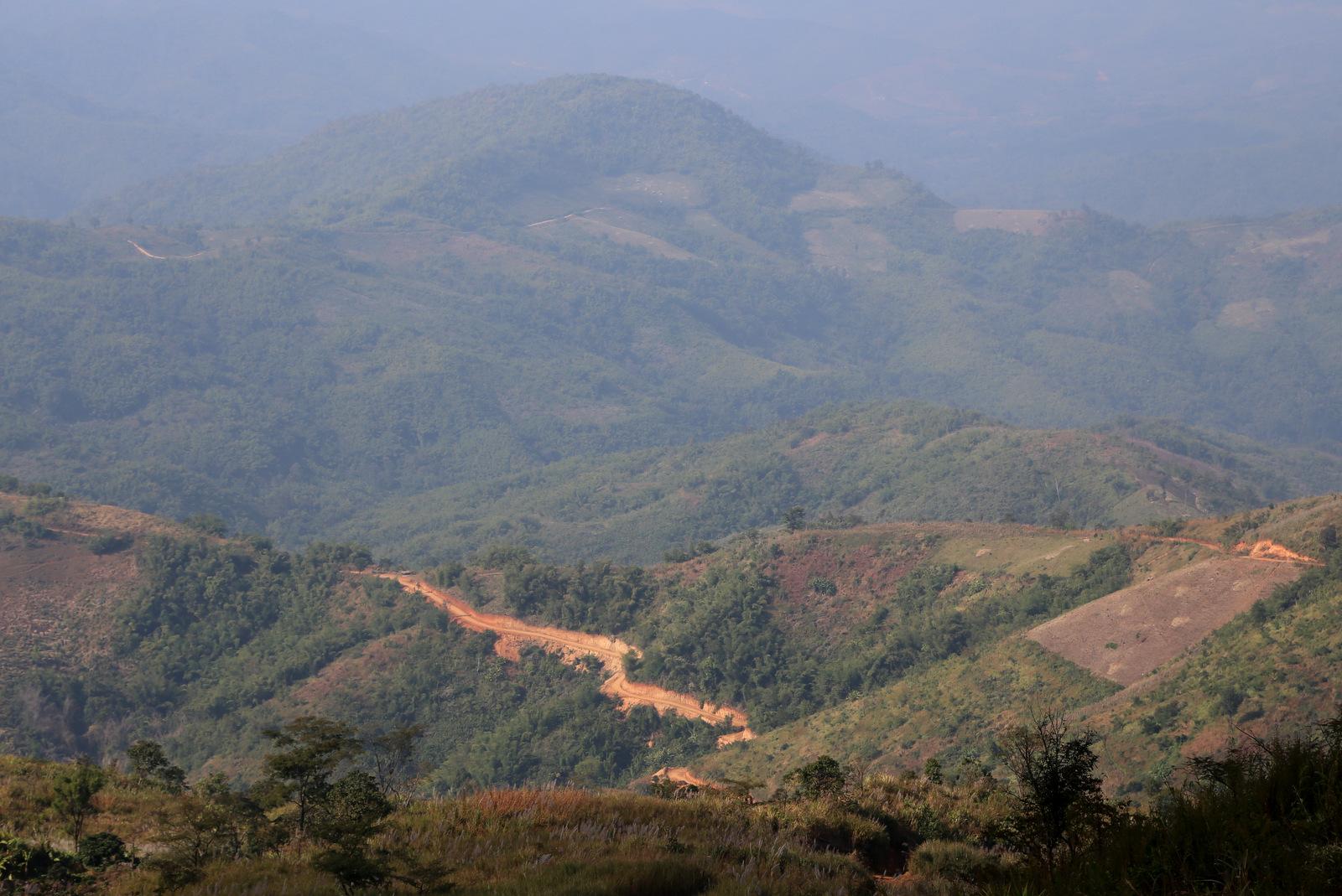 Burma border road