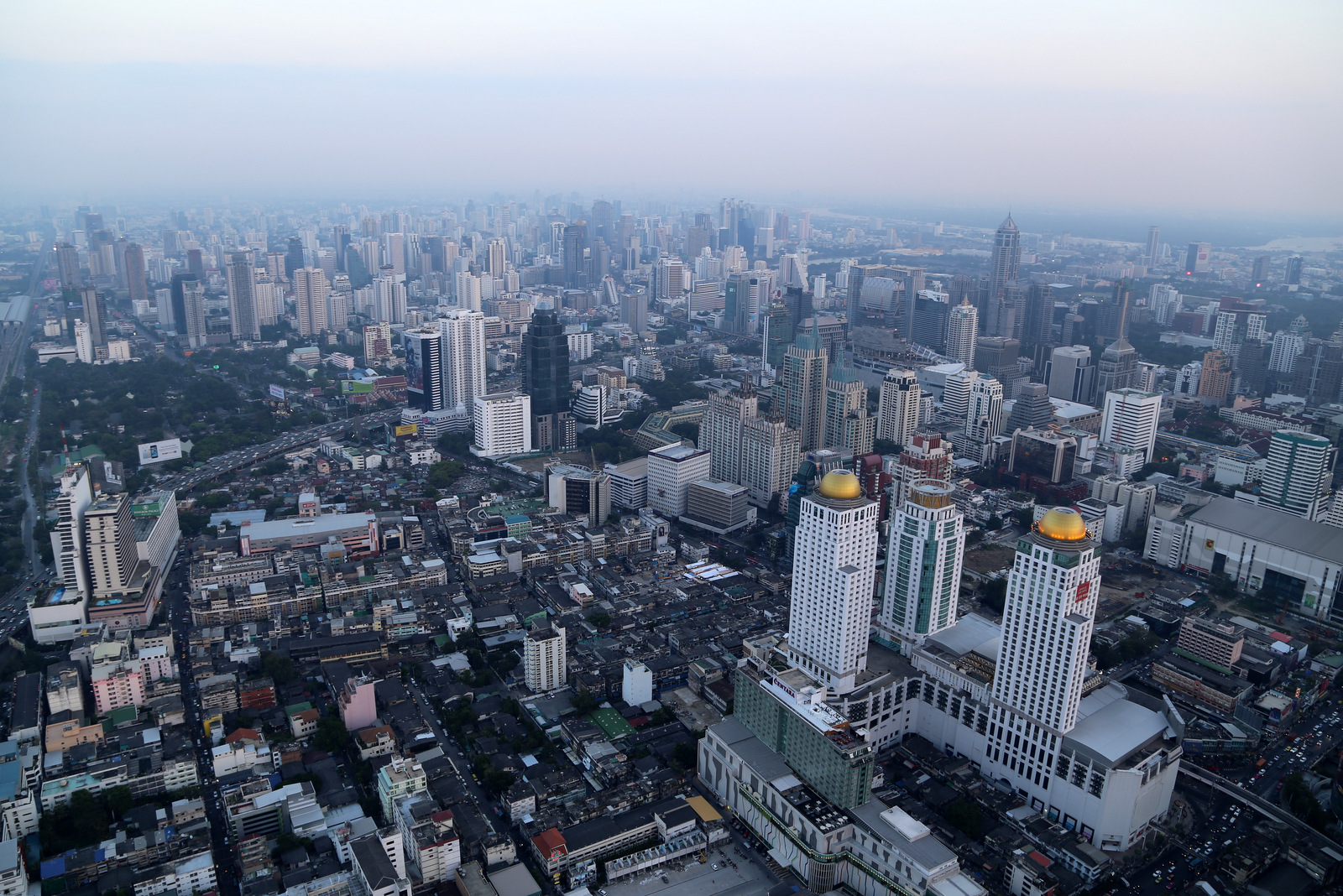 Bangkok from the top of Baiyoke Sky