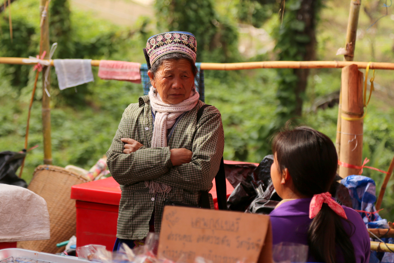Doi Inthanon market