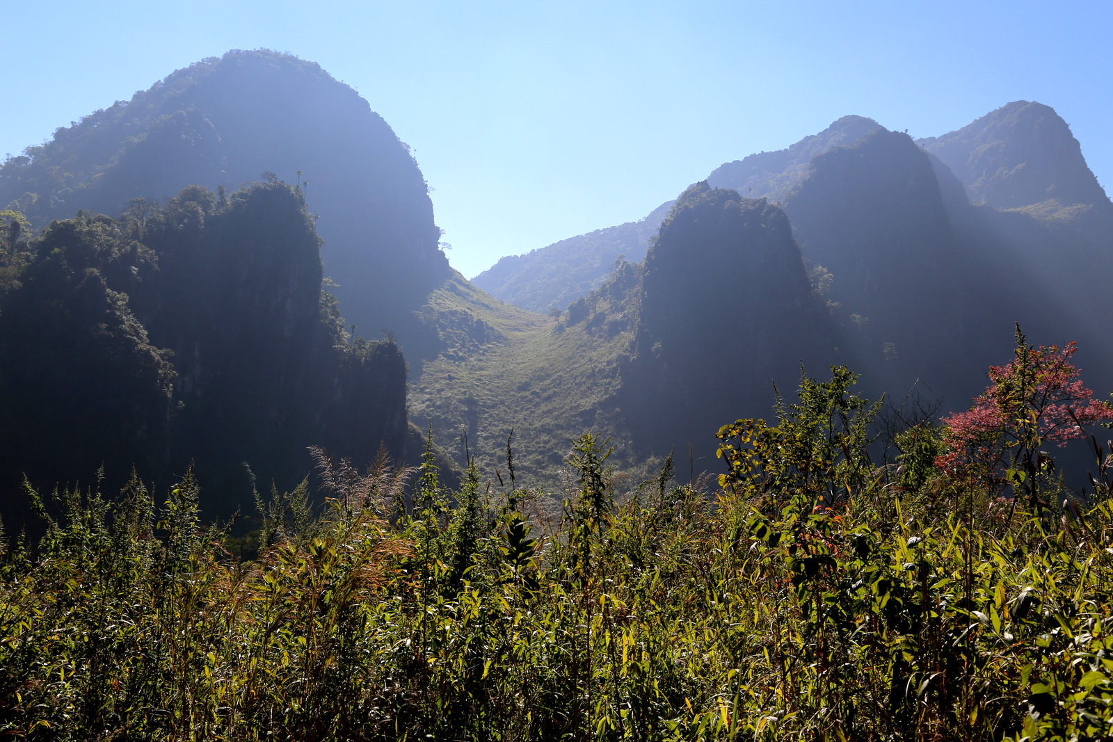 Chiang Dao trek
