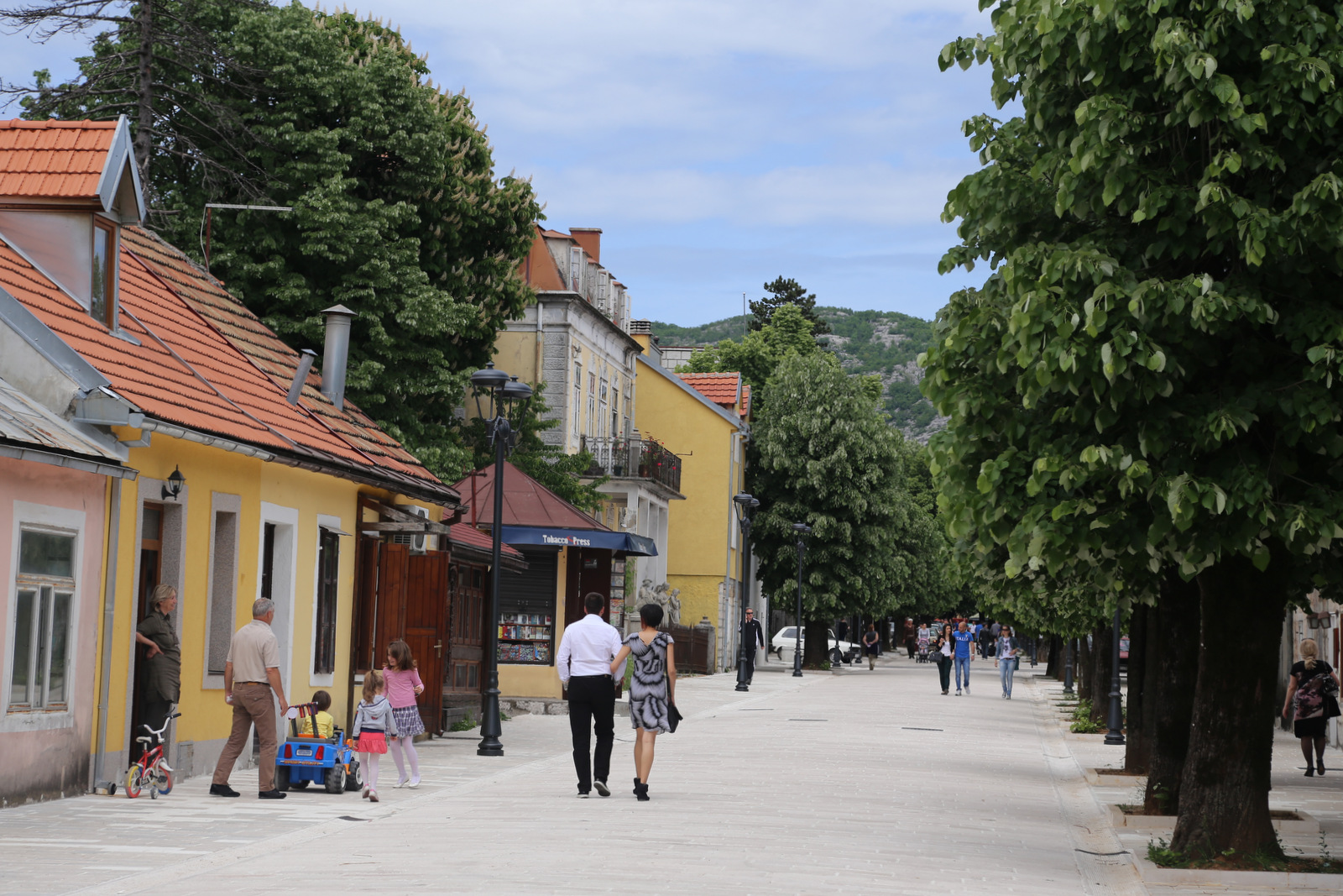 Cetinje, the old capital of Montenegro