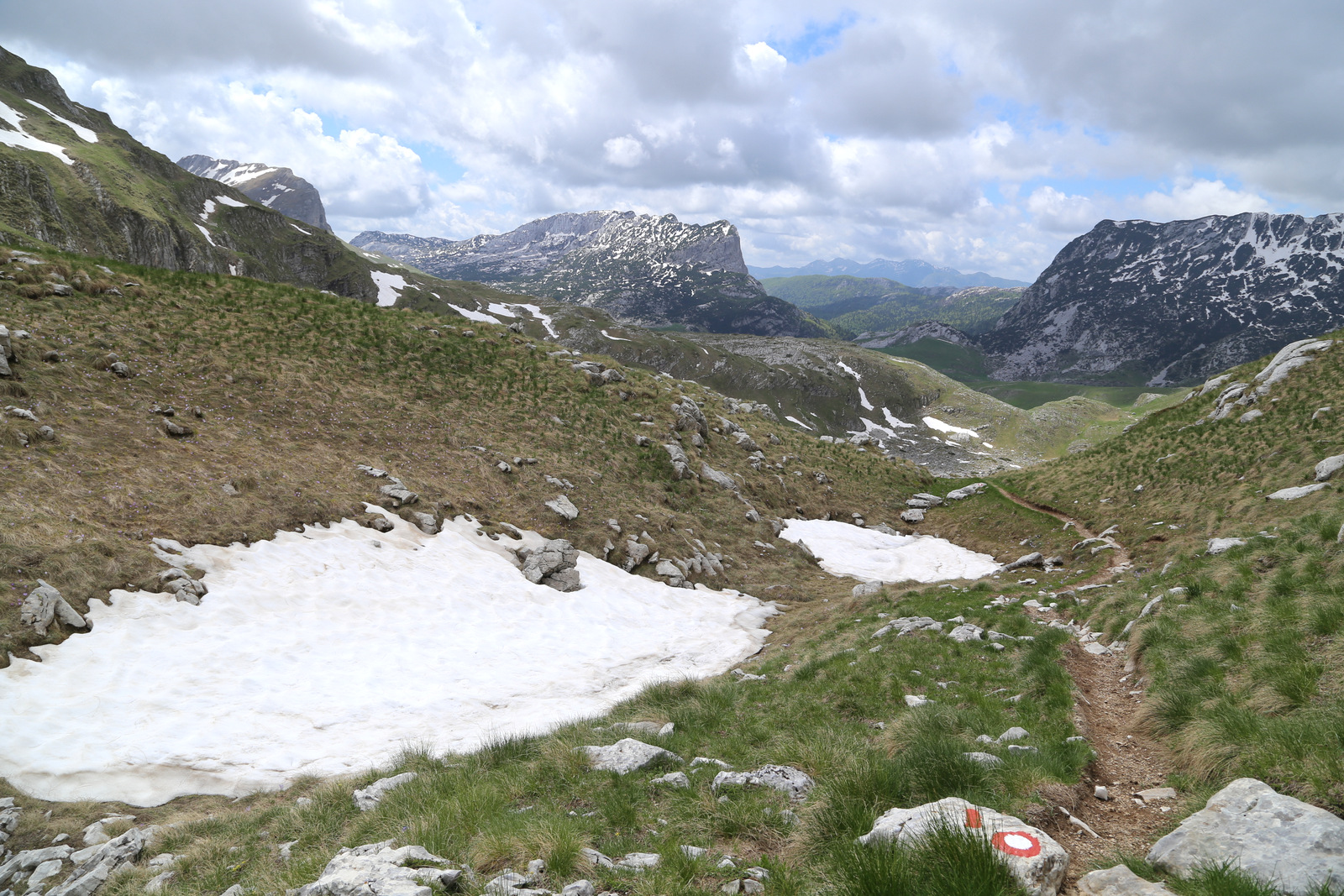 Route to Skrcka lakes