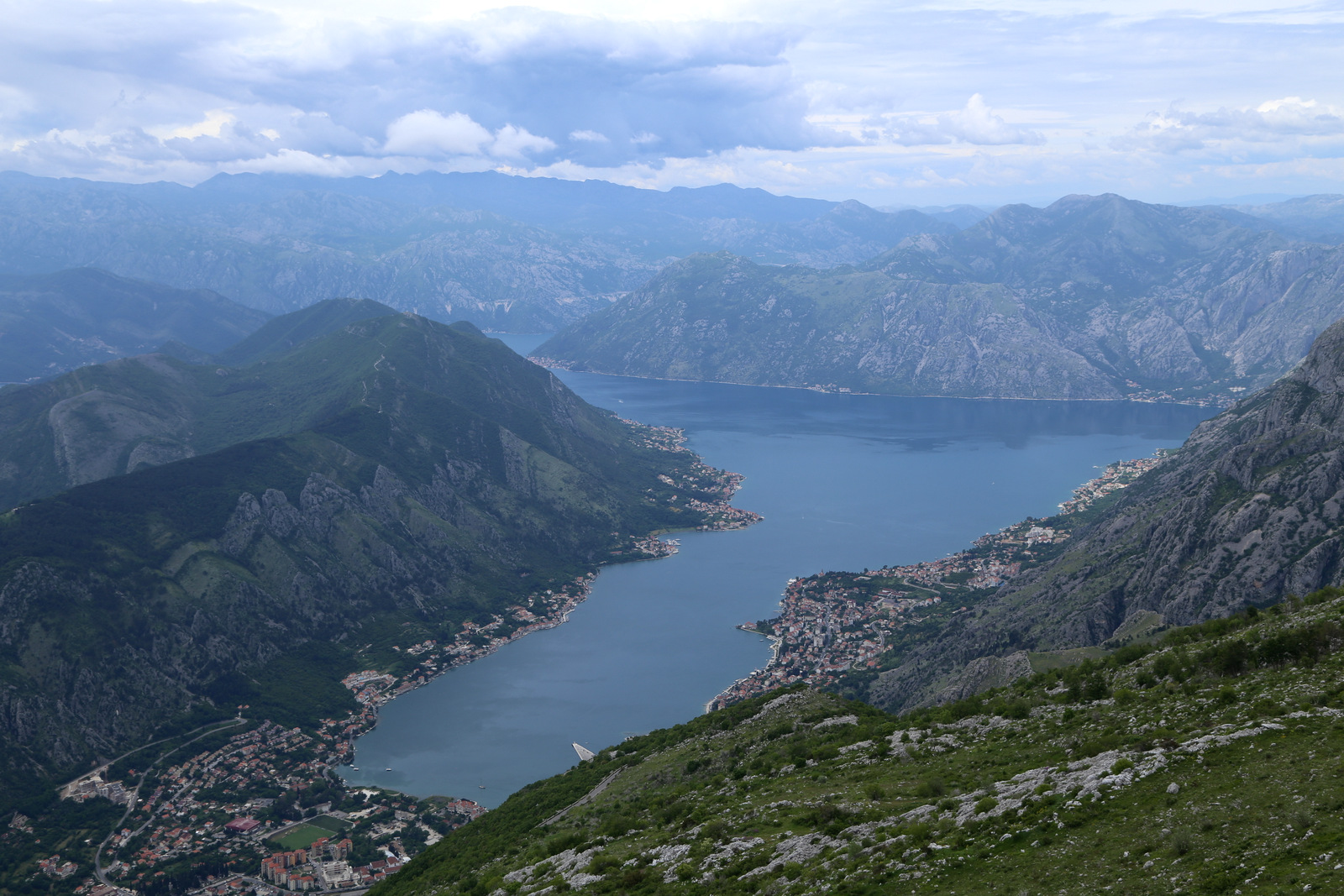 Views from Lovcen-Kotor road