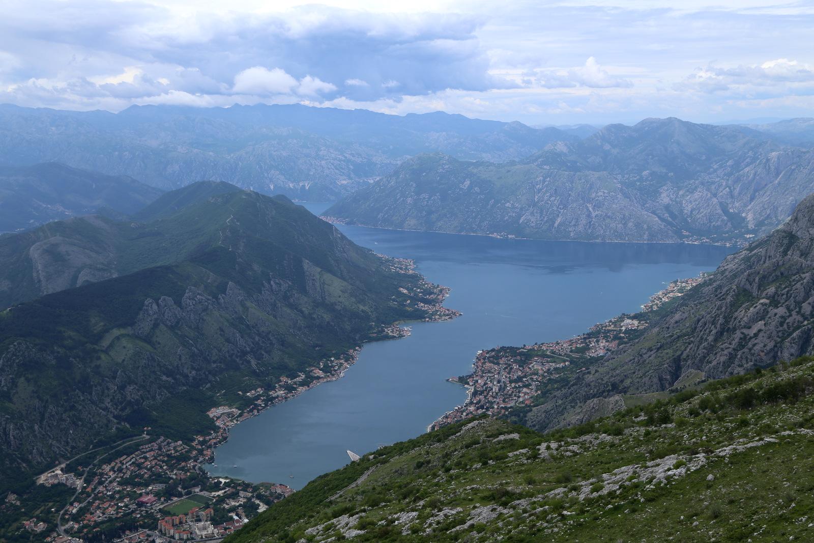 Views from Lovcen-Kotor road
