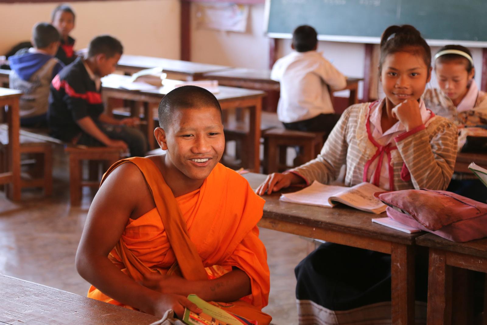 Ban Baw village school