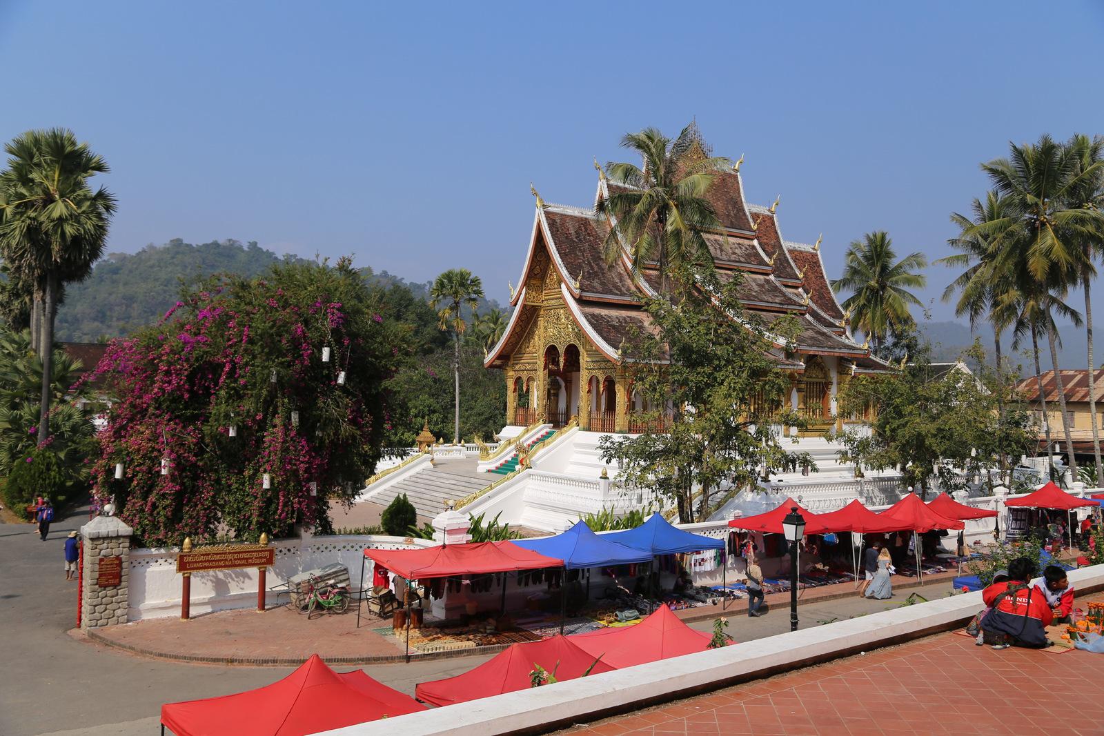 Luang Prabang - Haw Kham. Royal Palace Museum