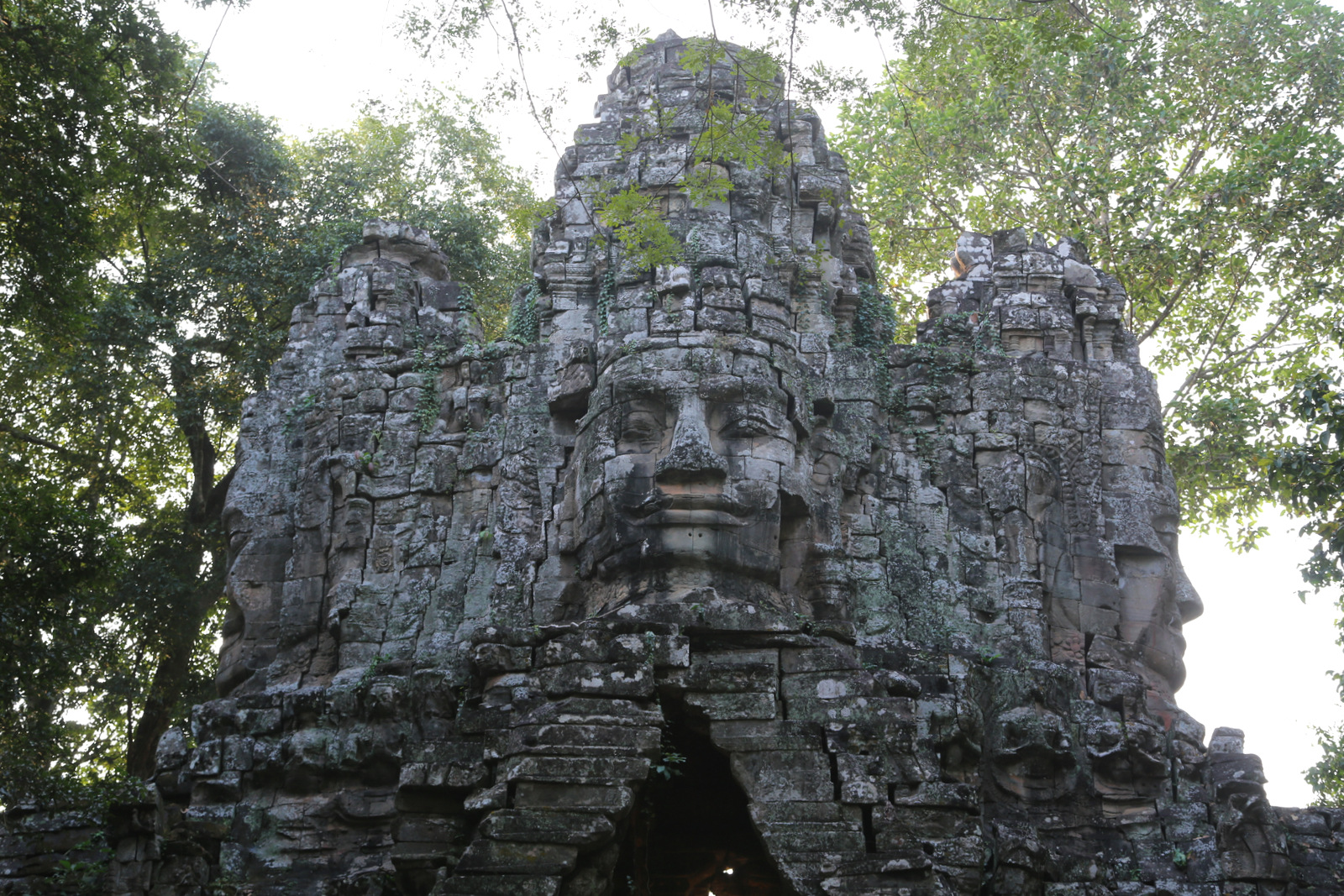 The smiling faces of Bayon