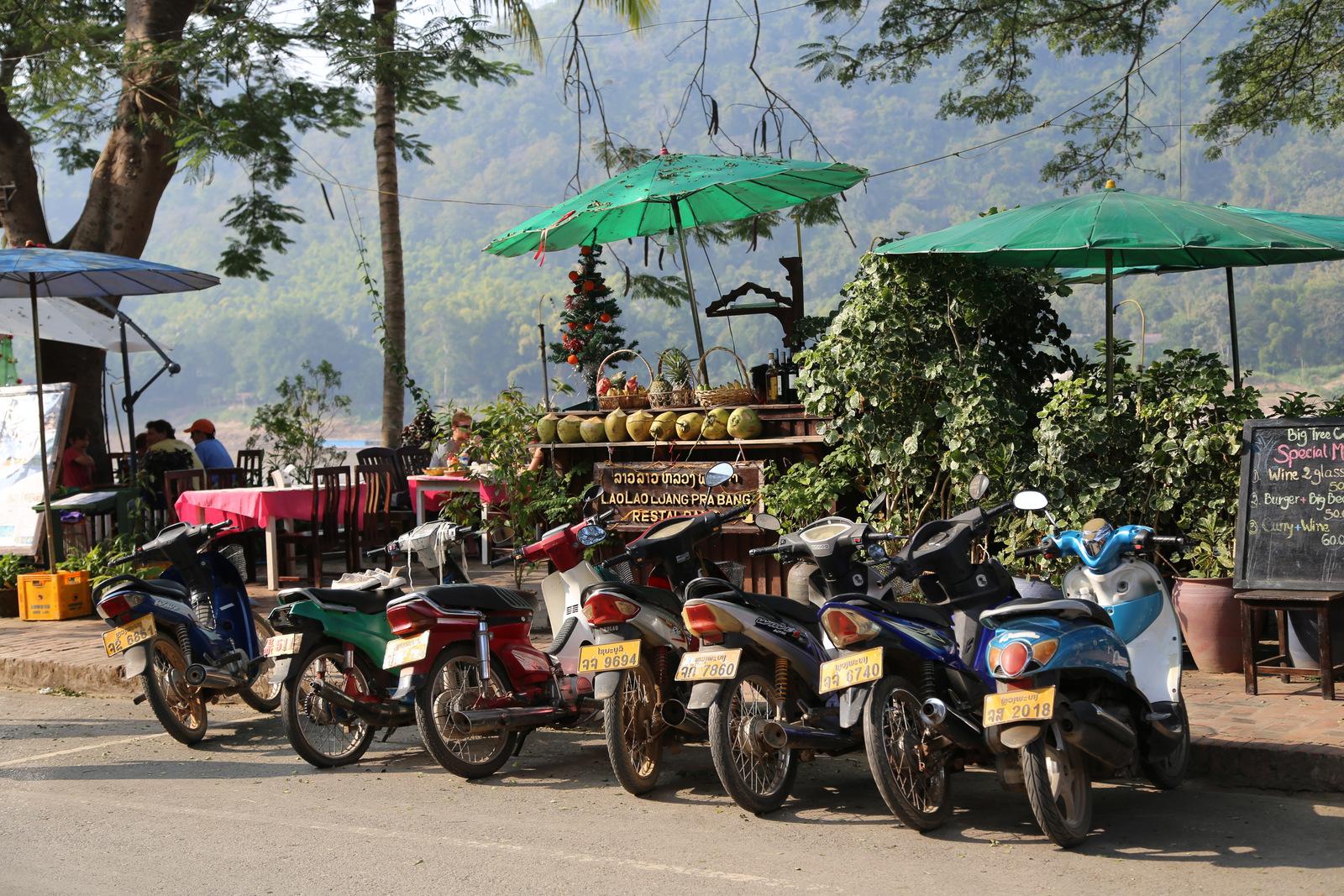 Luang Prabang, Mekong riverside