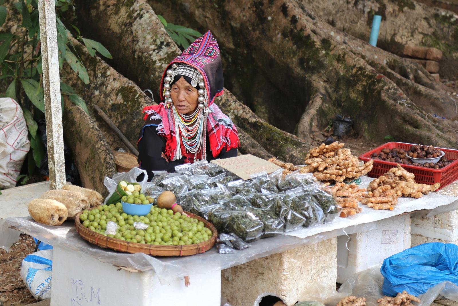 Doi Tung market