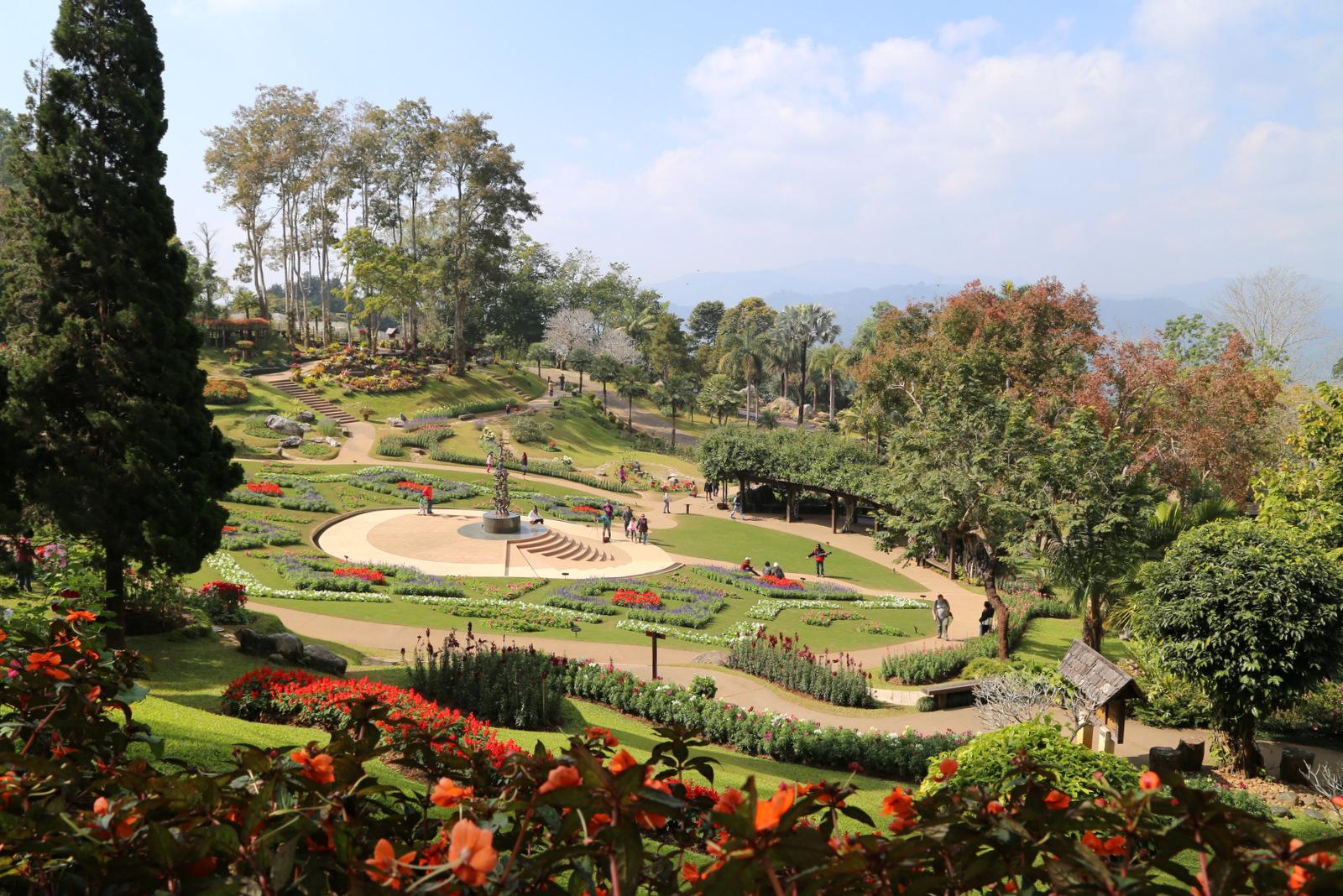 Doi Tung - Mae Fah Luang botanical garden