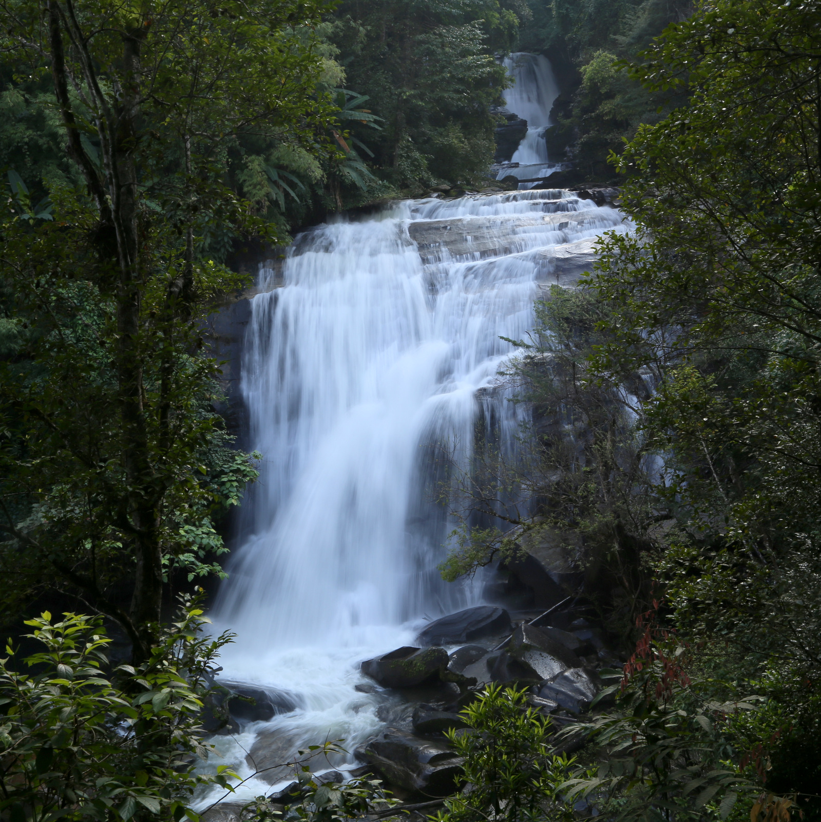 Doi Inthanon - Sirithan waterfall