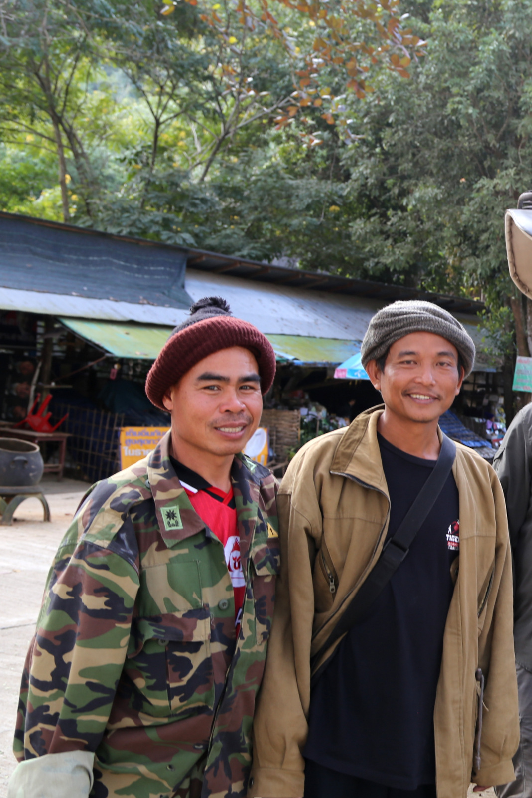 Chiang Dao trek - the happy team :)