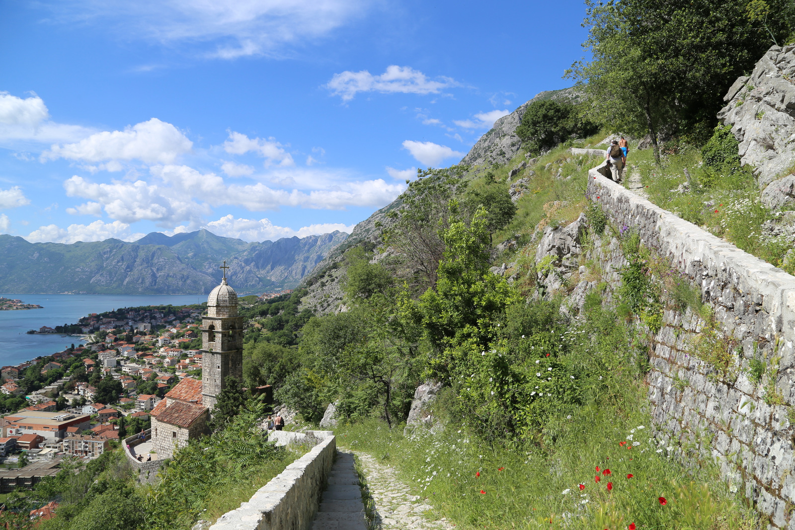 Kotor, on the way up to the fortress