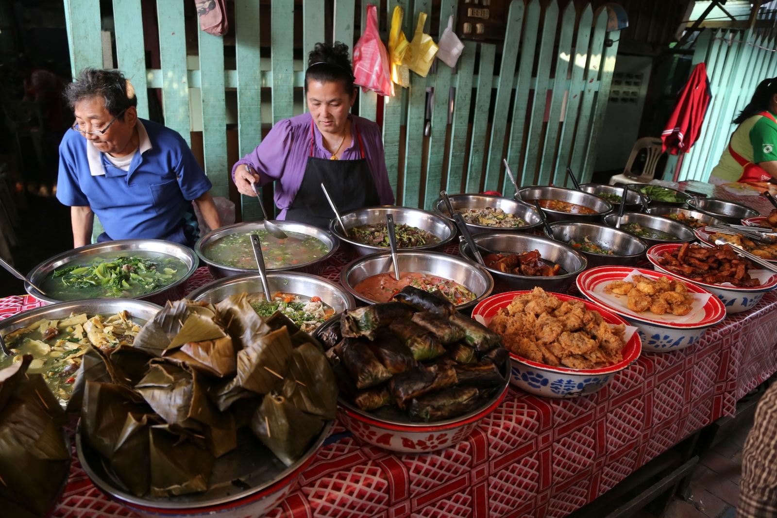 Luang Prabang - evening market