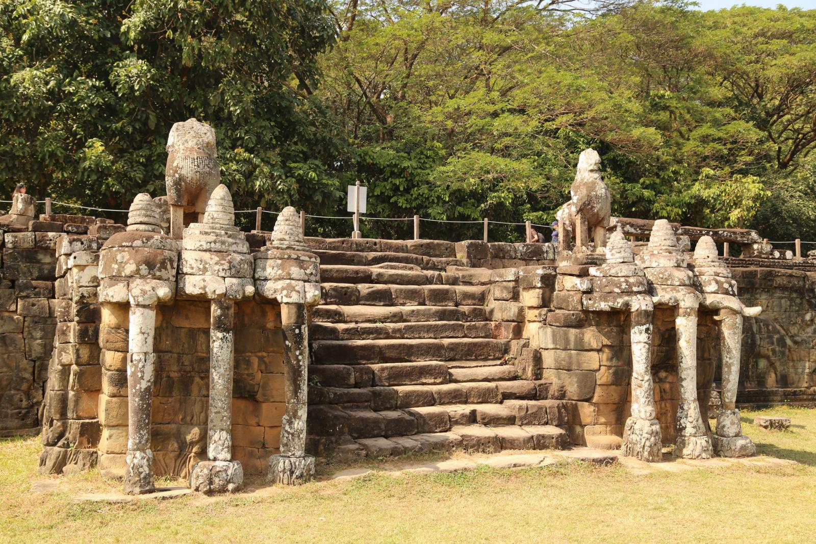 Angkor Tom, Terrace of the Elephants